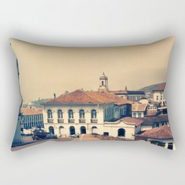 Ouro Preto vintage Rectangular Pillow