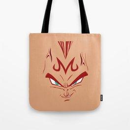 Vegeta majin face Tote Bag