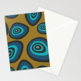 Blue Oysters Stationery Cards