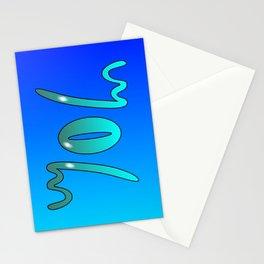 John (Ambigram) Namendreher Stationery Cards