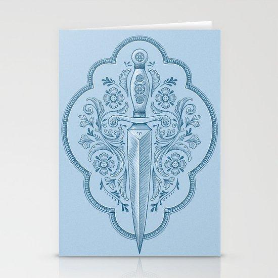 Gothic Dagger Ornamental Stationery Cards