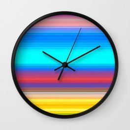 Re-Created Spectrum LIV by Robert S. Lee Wall Clock