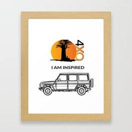 Gwagen 4xOverland Framed Art Print