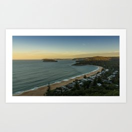 Pearl Beach, Central Coast Art Print