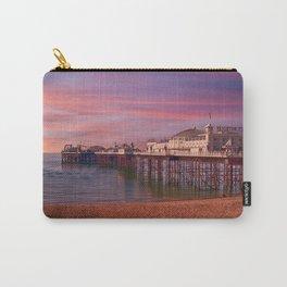 Brighton Pier Sunrise Carry-All Pouch