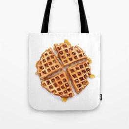 Cinnamon Raisin Waffle Tote Bag