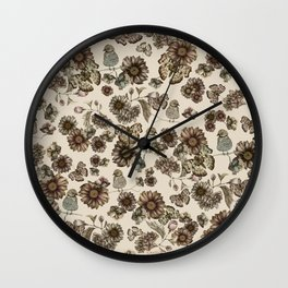 Silvestre pattern Wall Clock