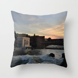 Spokane Throw Pillow