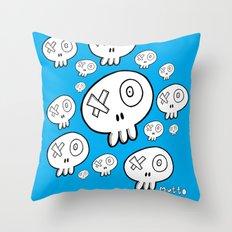 We're doomed Throw Pillow