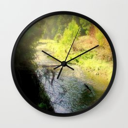 Autumn in the Otway Ranges Wall Clock