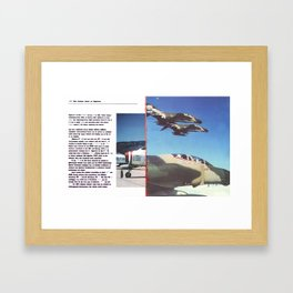Planes # 13 Framed Art Print