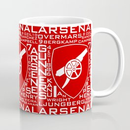 MixWords: Arsenal Coffee Mug