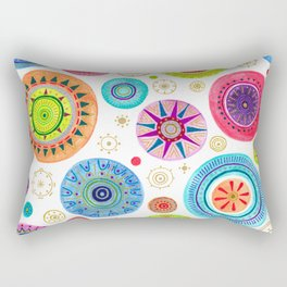 festive flowers Rectangular Pillow