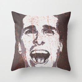 Utterly Insane Throw Pillow
