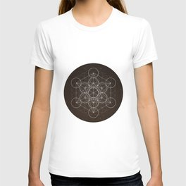 Metatrons Cube Is Out Of Space T-shirt