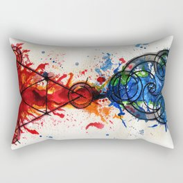 abstract alchemy Rectangular Pillow