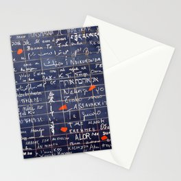 LOVE WALL Stationery Cards
