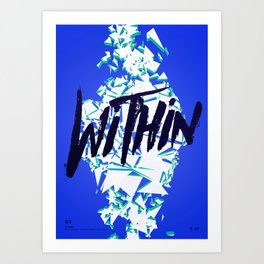 Daft Punk: Within Art Print