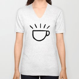 yay coffee Unisex V-Neck