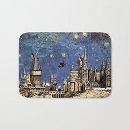 Hogwarts Starry Night Bath Mat