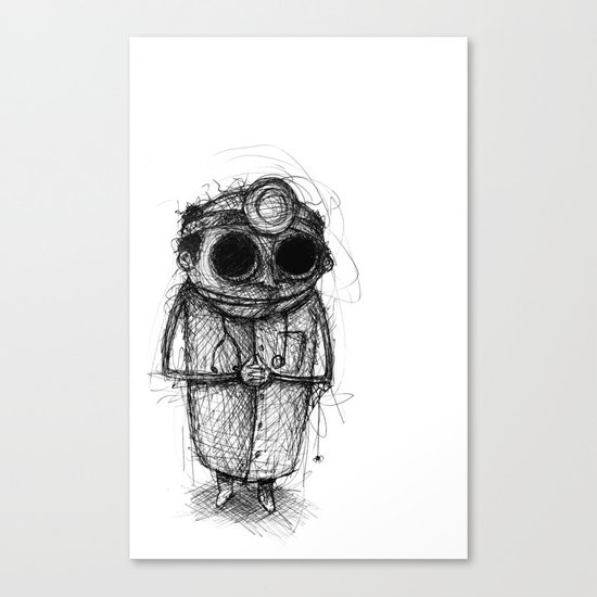 Dr. Death Canvas Print
