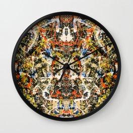 Reflecting Pollock 2 Wall Clock