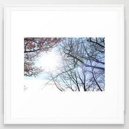 The Sun After The Storm Framed Art Print