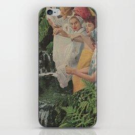 Washroom Gossip iPhone Skin