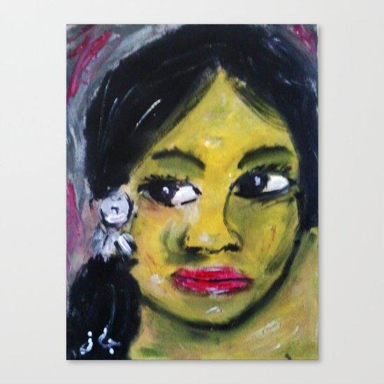 GAUGUIN GIRL4 Canvas Print