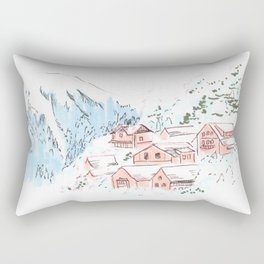 Hallstatt Austria Rectangular Pillow