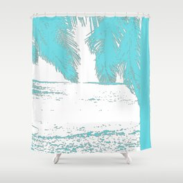Wish You Were Here IV Shower Curtain