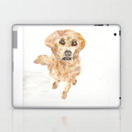 Golden Retriever, watercolor, pet, art, dog Laptop & iPad Skin