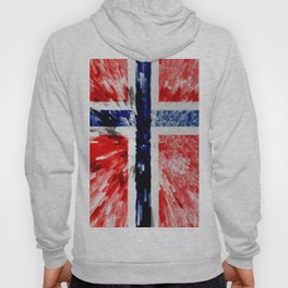 Extruded Flag of Norway Hoody