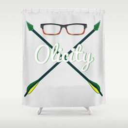 Olicity Shipper Shower Curtain