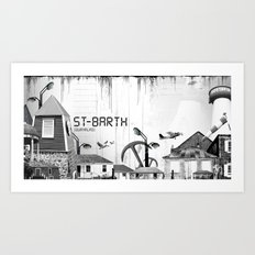 Saint Barth Art Print