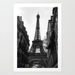 Noir Paris VIII Art Print