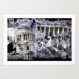 Boadicea Underground Art Print