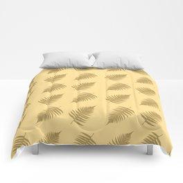 Fern pattern in cappuccino  Comforters