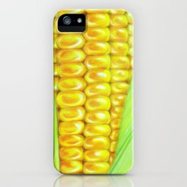 Color pencil Corn iPhone Case