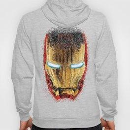 Iron Man Pointillism Hoody