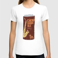 ale giorgini T-shirts featuring Chicago Brown Ale by Moto