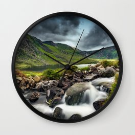 Tryfan and Ogwen Lake Wall Clock