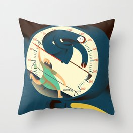the death lancet Throw Pillow