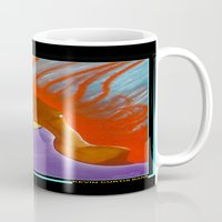 sister Mugs featuring SISTER by KEVIN CURTIS BARR'S ART OF FAMOUS FACES