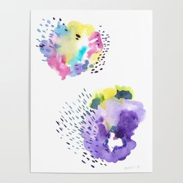 180802 Beautiful Rejection  7  | Colorful Abstract Poster