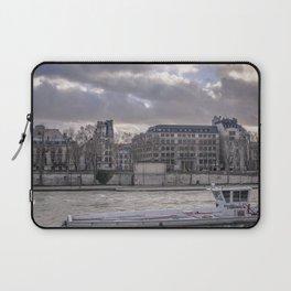 Seine wharf,  Paris Laptop Sleeve