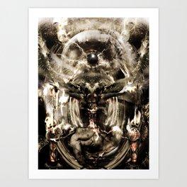 The Mirror of Life Art Print