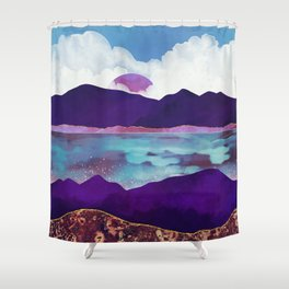 Dark Sea Shower Curtain