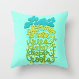 Storms Throw Pillow