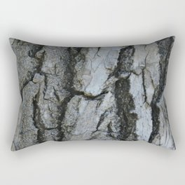 TEXTURES -- Fremont Cottonwood Bark Rectangular Pillow